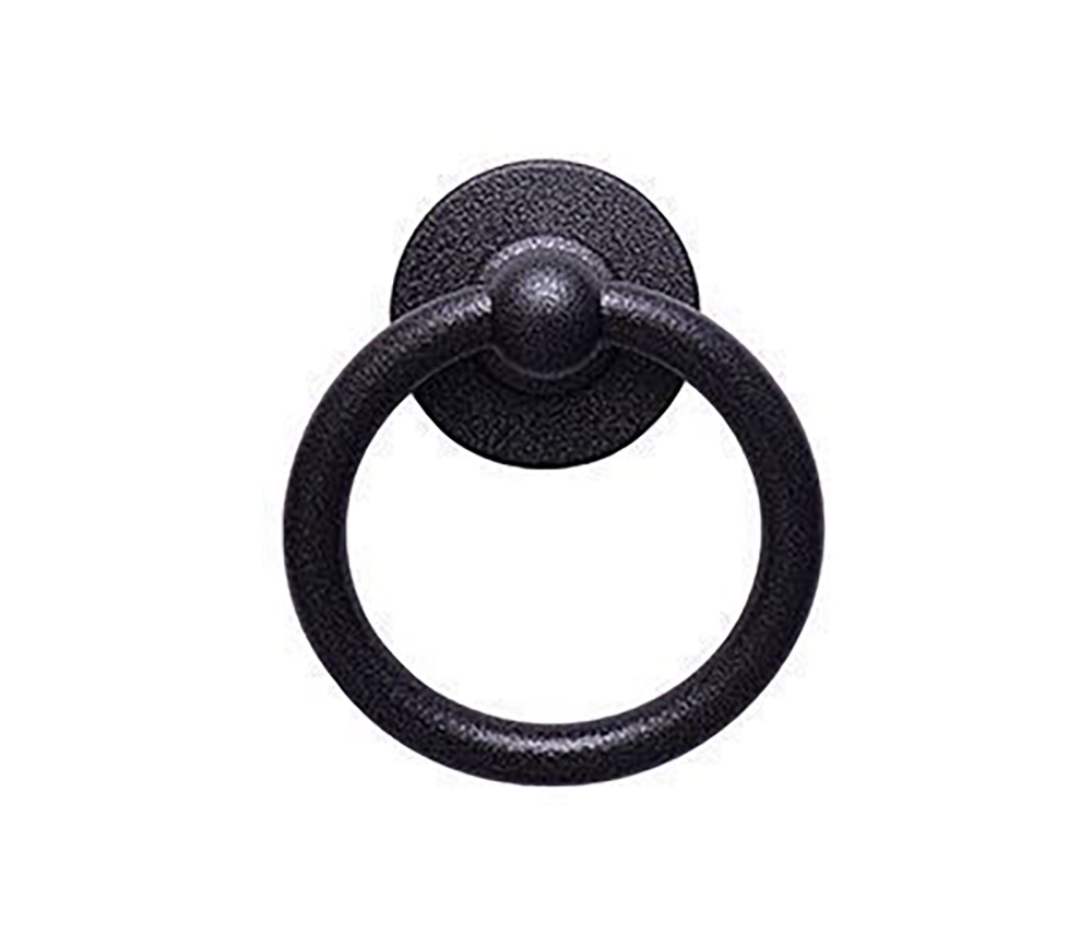 Heritage-Bullring-Knocker-Antique-Black