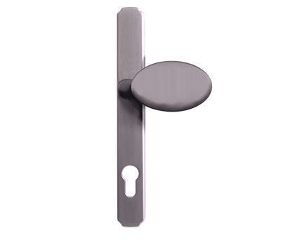 Heritage-Lever-Pad-Handle-Graphite